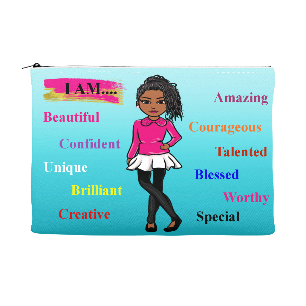Positive Girl Accessory Pouch