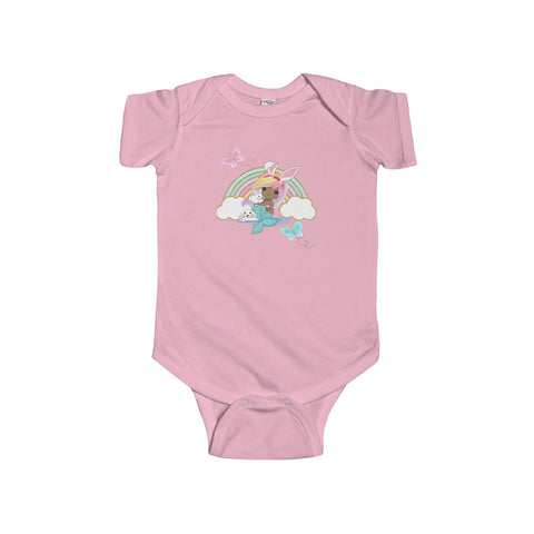 Mermaid Infant Fine Jersey Bodysuit