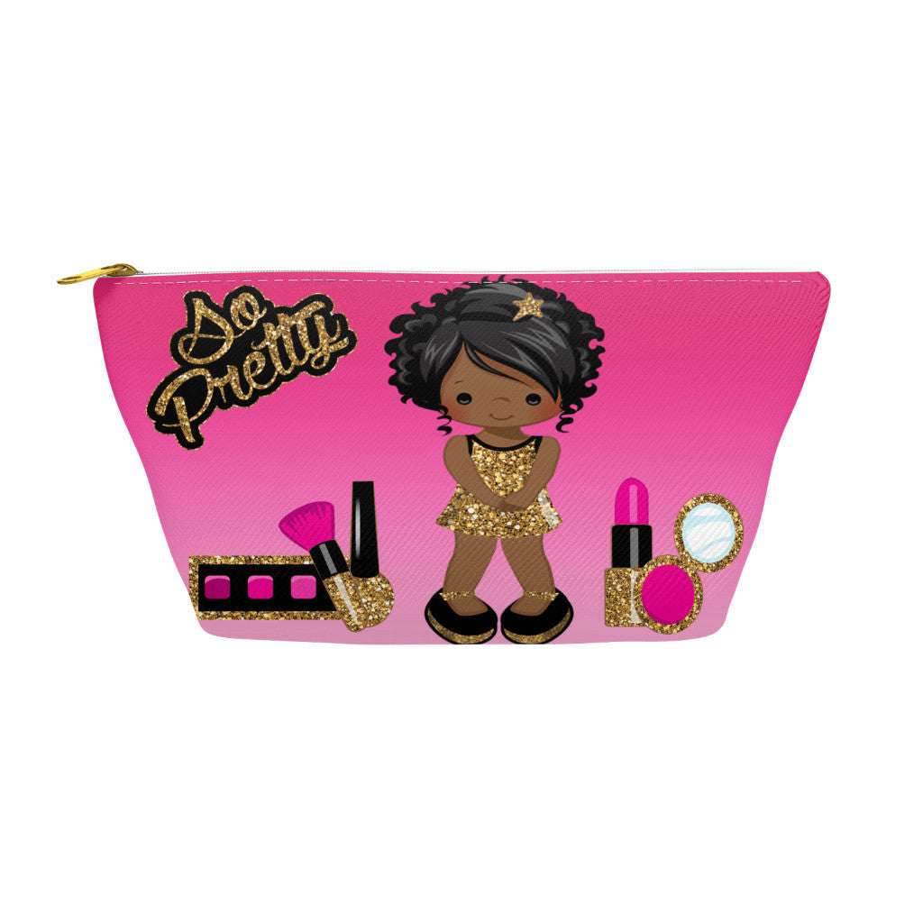 Gold Glamour Girl Accessory Bag2