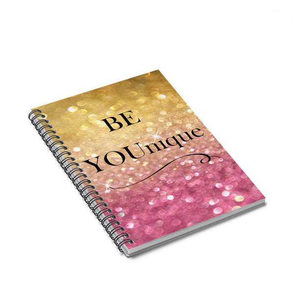 Be Younique Spiral Notebook - Ruled Line