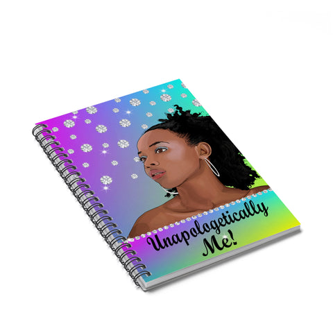 Unapologetically Me Spiral Notebook