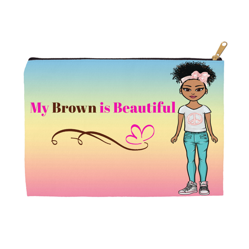 My Brown is Beautiful Accessory Bag