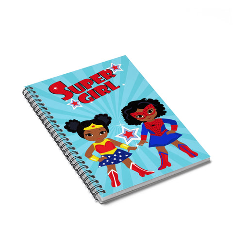 Supergirl2 Spiral Notebook