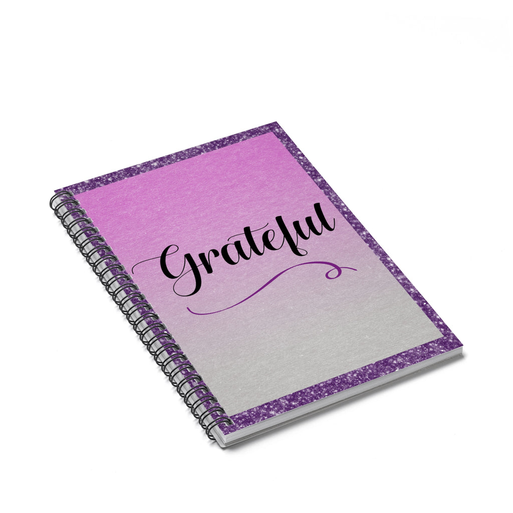 Grateful Spiral Notebook - Ruled Line