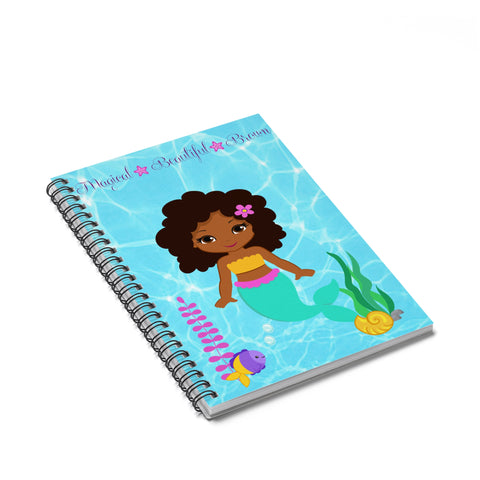 Mermaid Spiral Notebook - Ruled Line