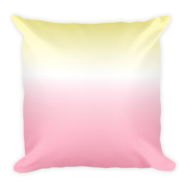 Afro Unicorn Square Pillow