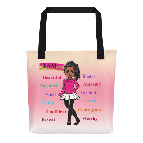 Positive Girl Tote bag