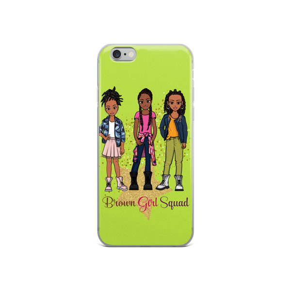 Brown Girl Squad iPhone Case