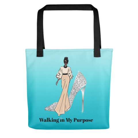 Walking in My Purpose Tote bag