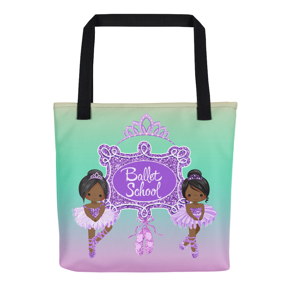 Purple Ballerina Tote bag