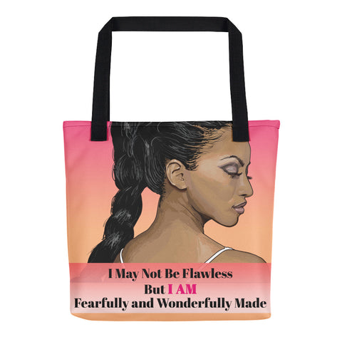 Fearfully and Wonderfullly Made Tote bag