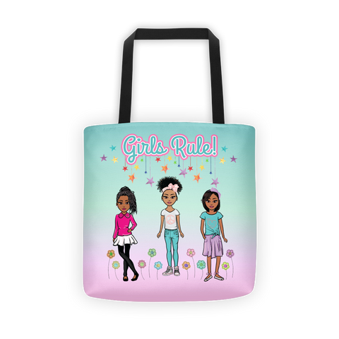Girls Rule! Tote bag
