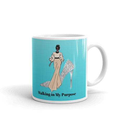 Walking in My Purpose Mug
