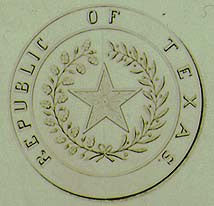 Detail of Texas Seal