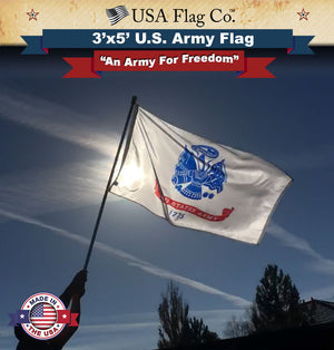 US Army Flag Waving