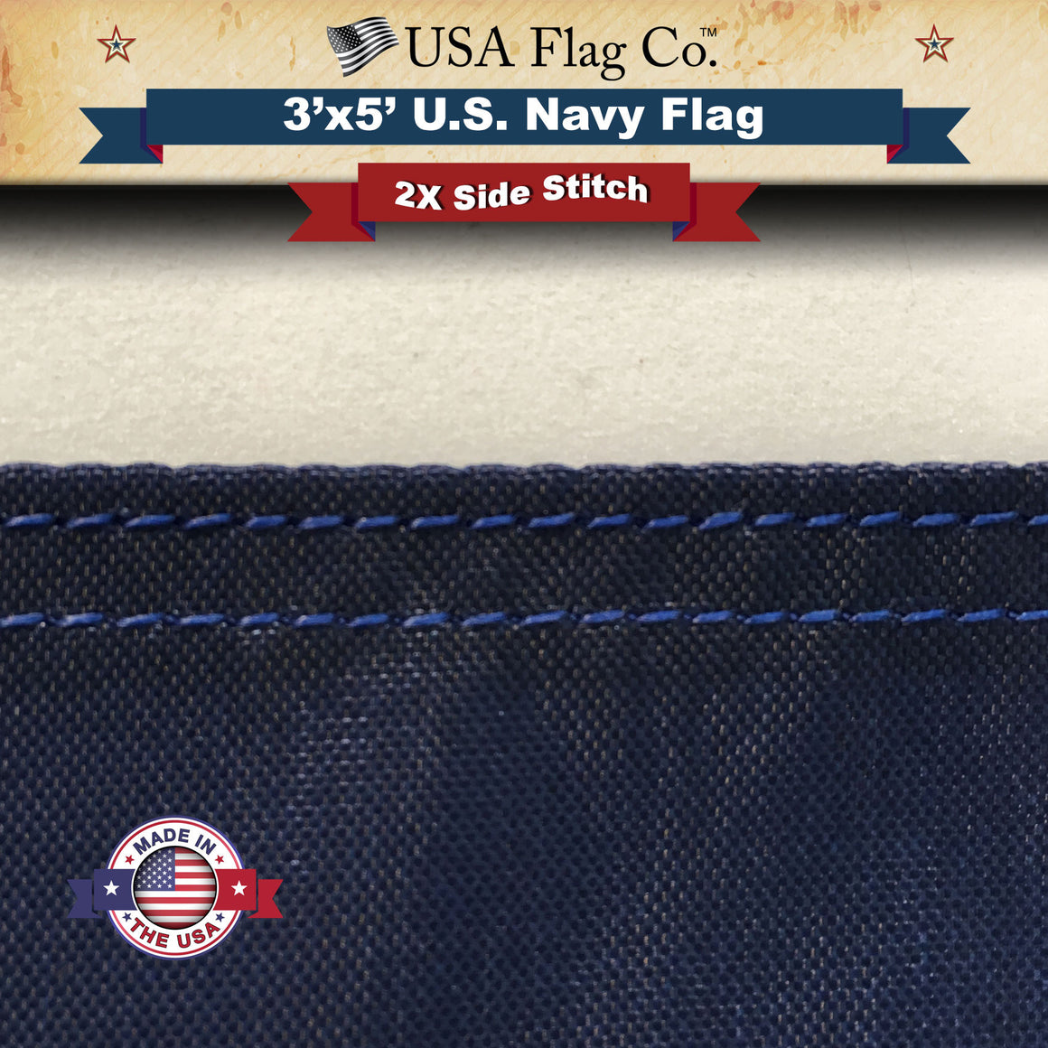 US Navy Flag (3x5 foot)