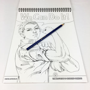 AMERICA Adult Coloring Book by USA Flag Co.