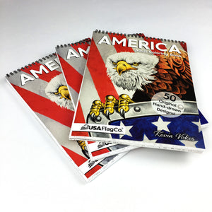 AMERICA Adult Coloring Book