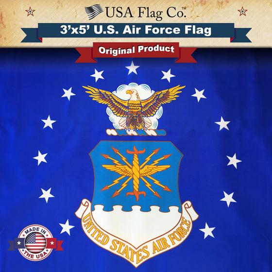 US Air Force Flag by USA Flag Co.