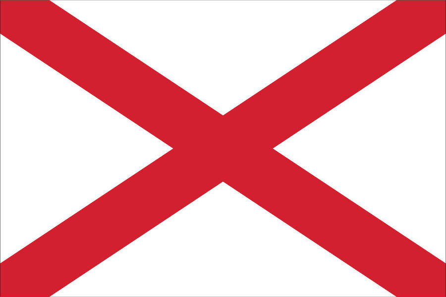 Alabama Flag by USA Flag Co.