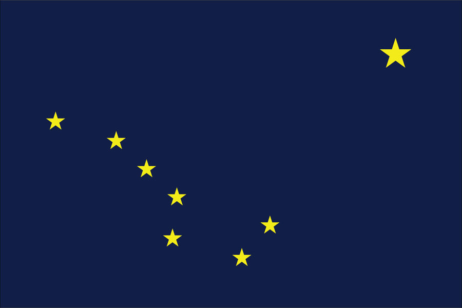 Alaska Flag by USA Flag Co.
