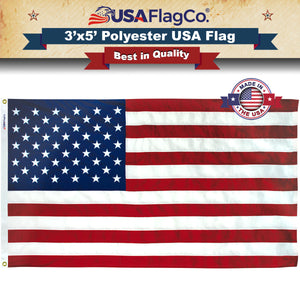 Polyester US Flag by USA Flag Co.