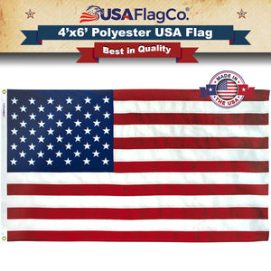 Polyester American Flag by USA Flag Co.