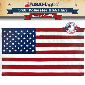 Polyester USA Flags by USA Flag Co.