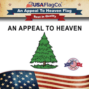 Pine Tree Flag aka An Appeal to Heaven Flag (Made in the USA) by USA Flag Co.