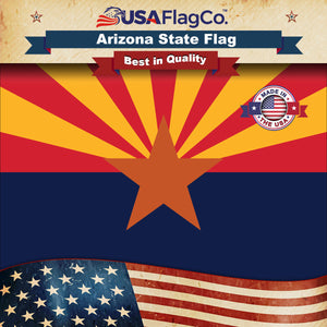 Arizona Flag by USA Flag Co.