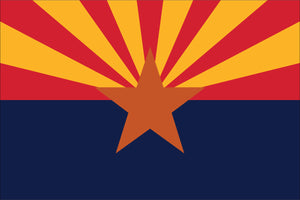 Arizona State Flag by USA Flag Co.