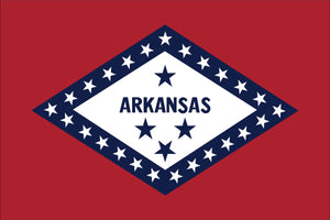 Arkansas State Flag by USA Flag Co.
