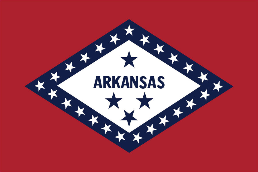 Arkansas Flag by USA Flag Co.