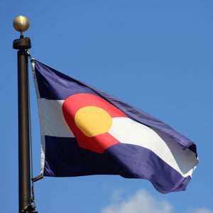 Colorado Flags by USA Flag Co.