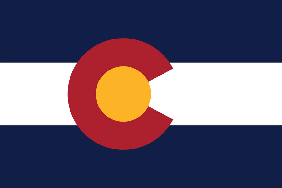 Colorado Flag by USA Flag Co.