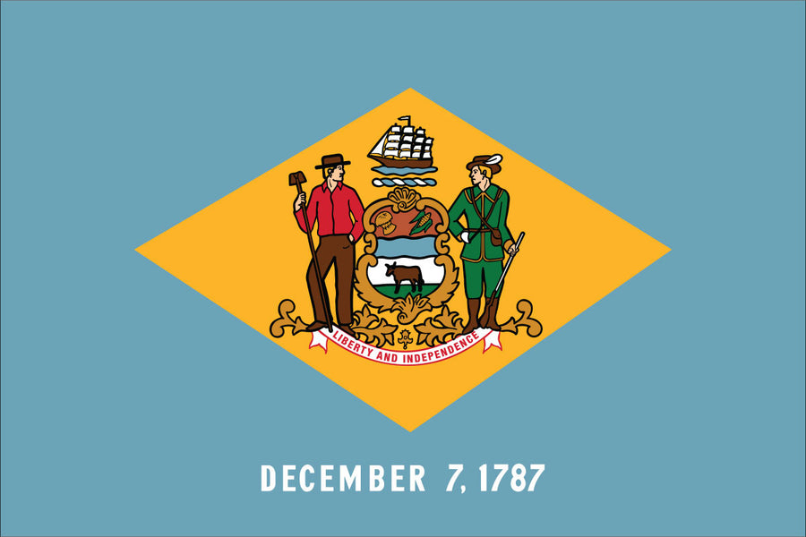 Delaware Flag by USA Flag Co.