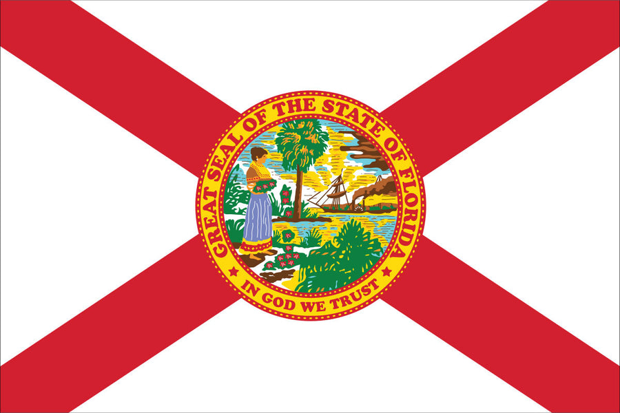 Florida Flag by USA Flag Co.
