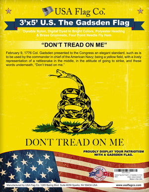 Gadsden Flag: Don't Tread On Me
