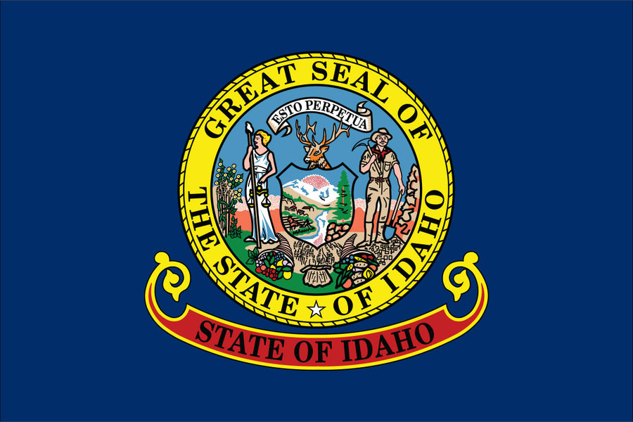 Idaho Flag by USA Flag Co.