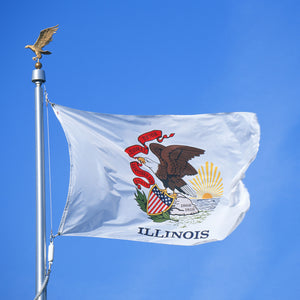 Illinois Flags by USA Flag Co.
