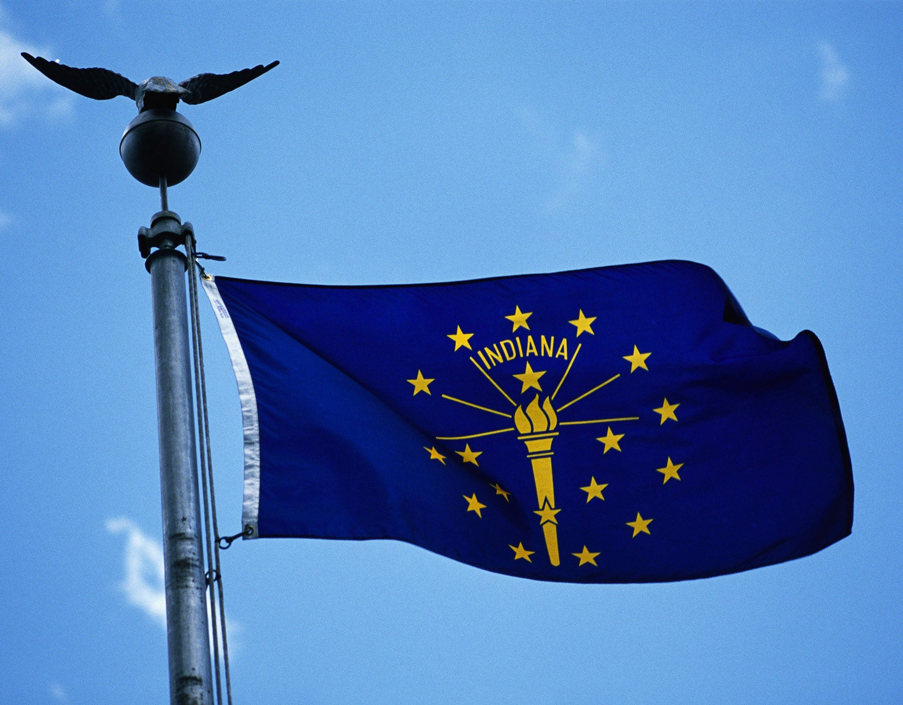 Indiana Flag - Outdoor State Flags (Made in the USA) by USA Flag Co.