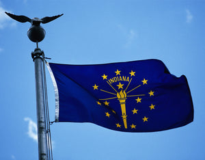 Indiana Flags by USA Flag Co.