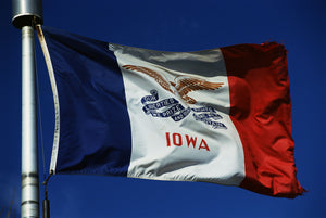 Iowa Flags by USA Flag Co.
