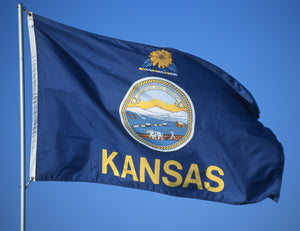 Kansas Flags by USA Flag Co.