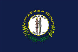 Kentucky State Flag by USA Flag Co.