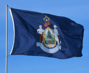 Maine Flags by USA Flag Co.