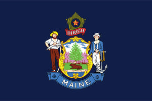 Maine State Flag by USA Flag Co.