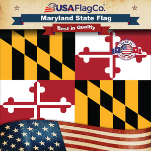 Maryland Flag by USA Flag Co.