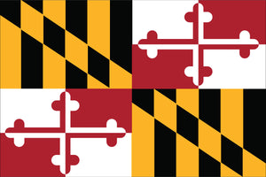 Maryland State Flag by USA Flag Co.