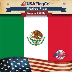 Mexico Flag by USA Flag Co.